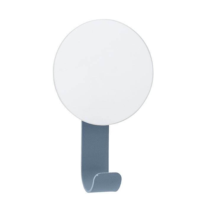 Spegel med krok 12x7 cm - Blå