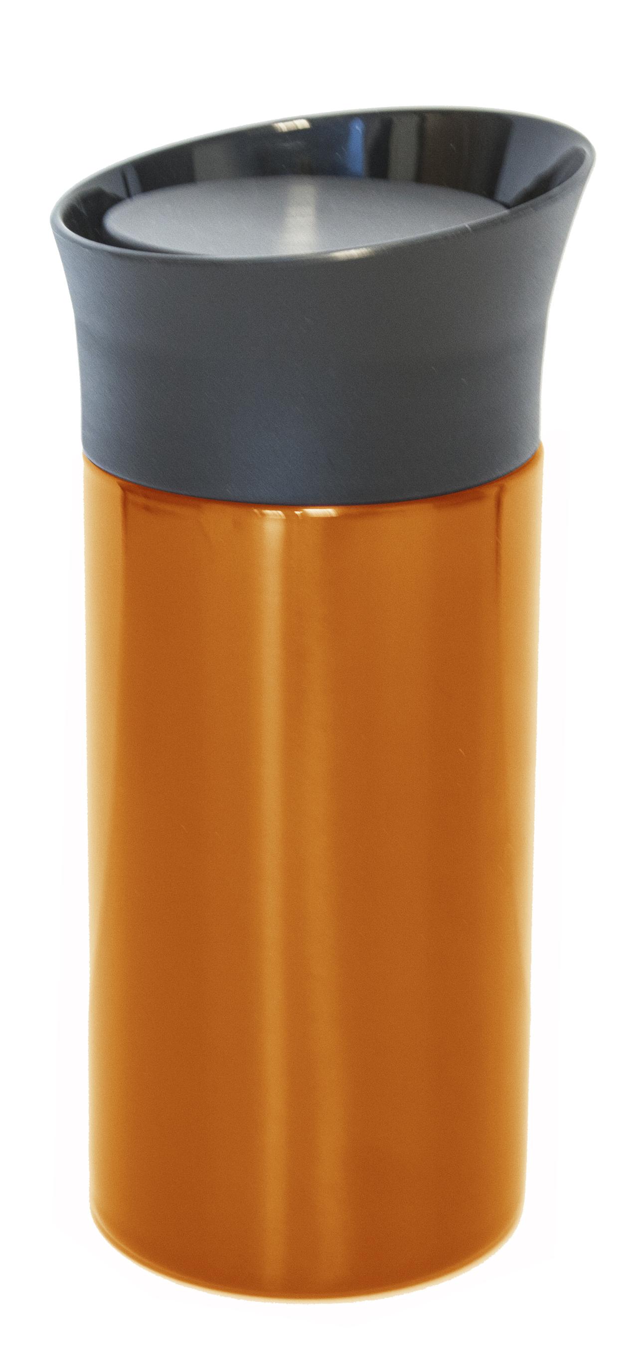 Bilmugg rak liten orange