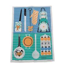 Kjøkkentavlen Kjøkkenhåndduk Blå
