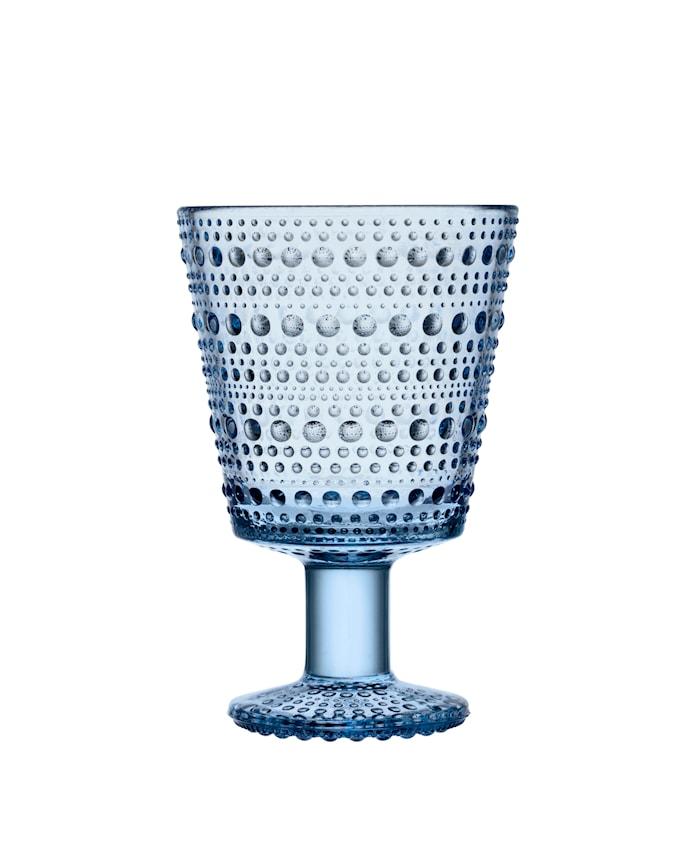 Kastehelmi Glas mit Stiel Aqua 26 cl 2 Stk