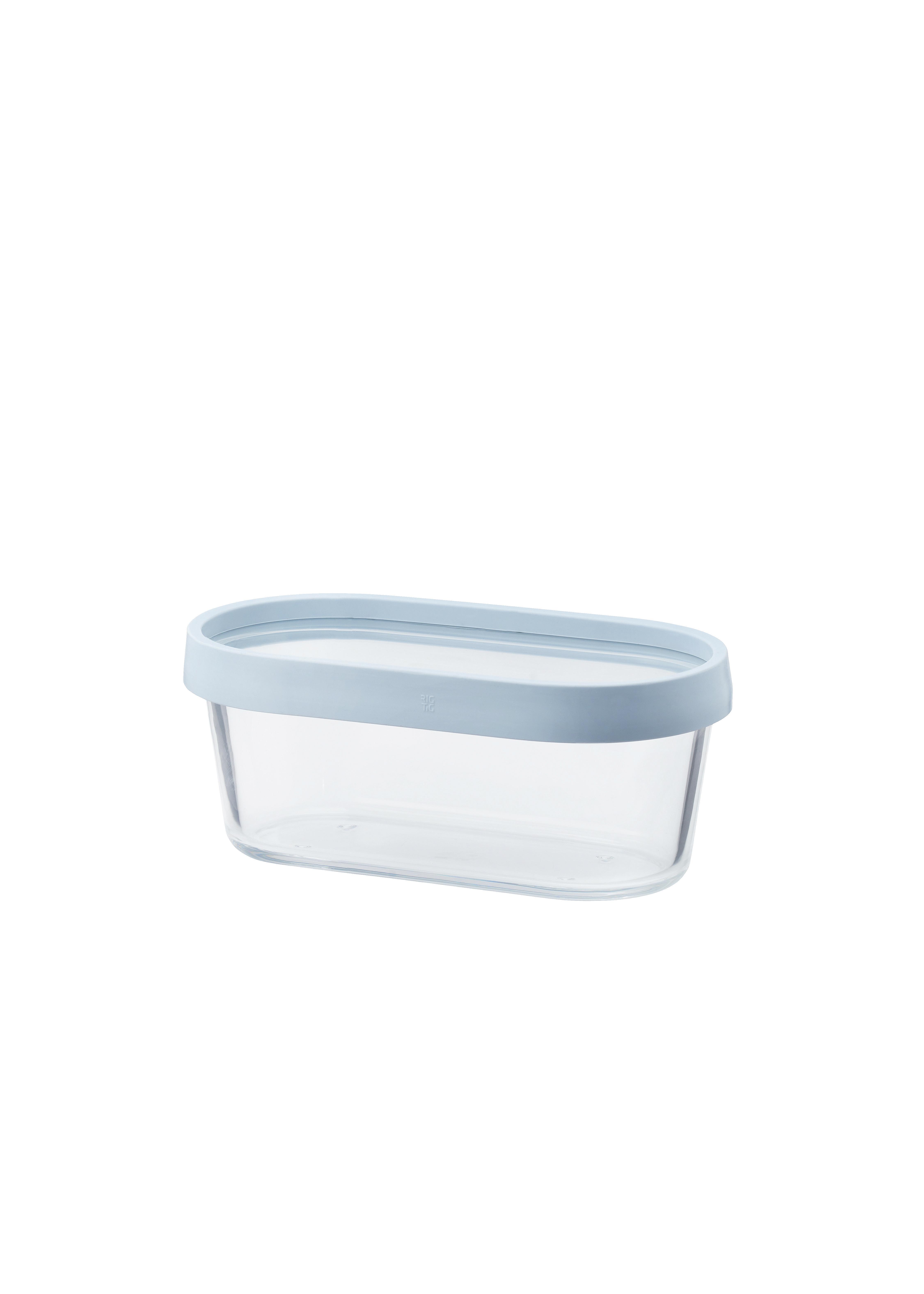 Cook & Freeze ugnsfast Fat/Förvaringsbox Medium Ljusblå