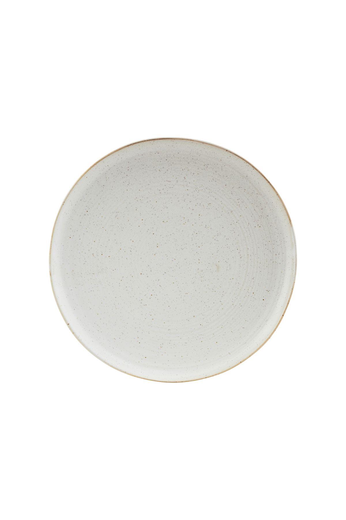 Pion Frukosttallrik Grå/vit