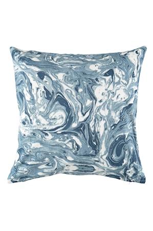 Tyynynpäällinen Marmori 50x50 cm - Savunsininen