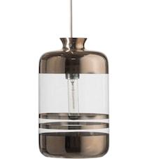 Pillar transparent tagpendel – Transparent, platinum