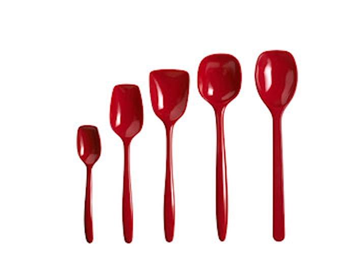 Grydeske 5 dele Rød