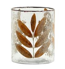 Leaves Vase/Lyslykt Glass Medium