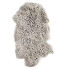 Lamb fur matta – Light grey