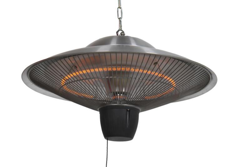 Heater Terrassvärmare 425 cm Silver