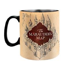 Harry Potter Värmekänslig Mugg Marauder´s Map