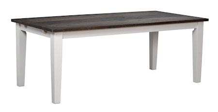 Nottingham matbord 200 grå