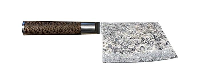 Kuro Sakata, hackkniv 14 cm i 67 lager damaskusstål i trälåda