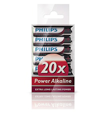 Fashion Power Alkaline AAA 20-pakkaus