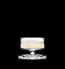 Stub Champagne/Dessert glass Klar 20 cl 4 stk.
