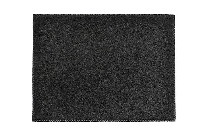 Bordstablett Filt Svart 40x30 cm
