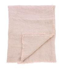 Pöytäliina Pellava Vaaleanpunainen 140x220 cm