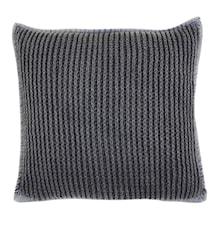 Pure knitted Putetrekk 45x45 - Blå