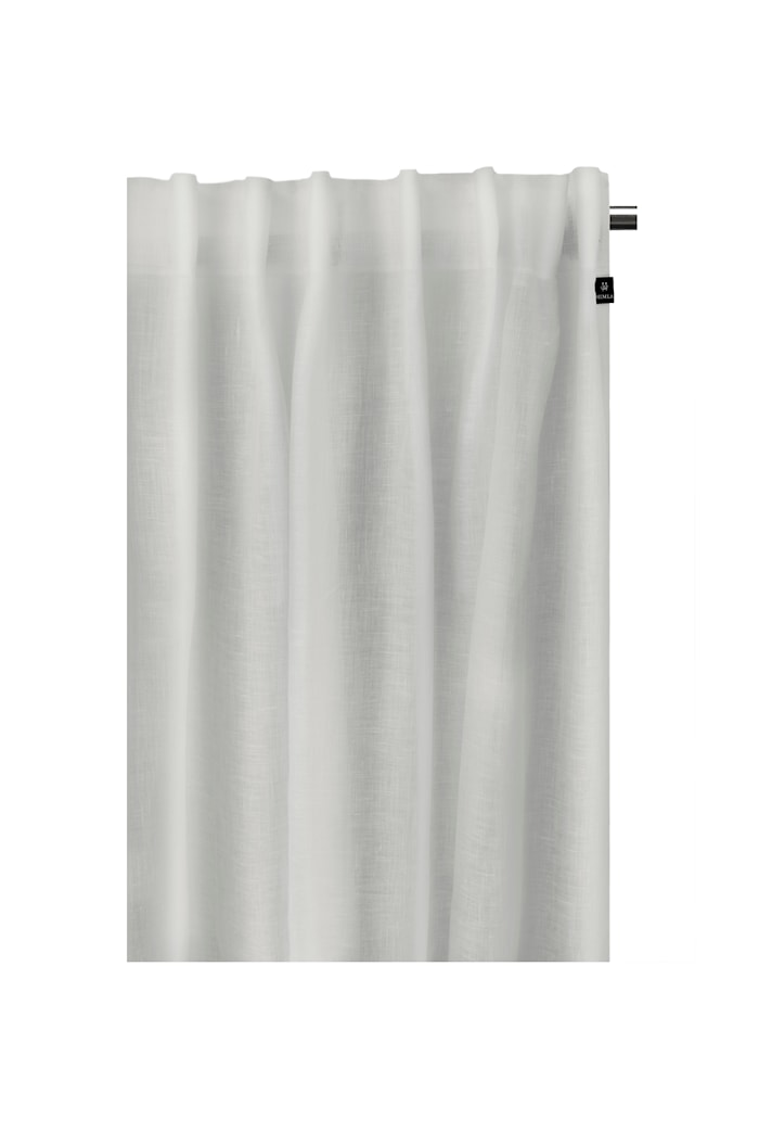 Gardin Dalsland med knytebånd 145x290cm grå