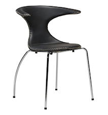 Chair Flair Black Imitation Leather