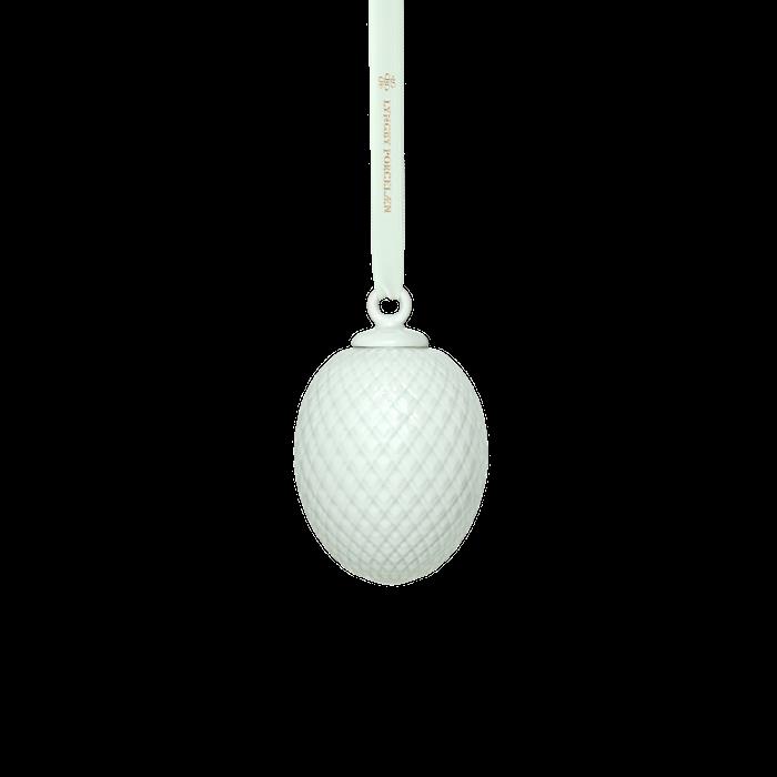 Rhombe Påskevedhæng Soft green Porcelæn 7,5 cm