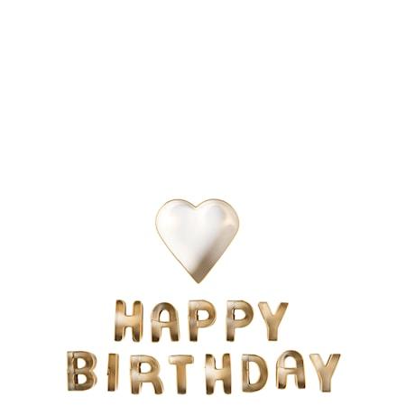 Cookie cutter set Birthday