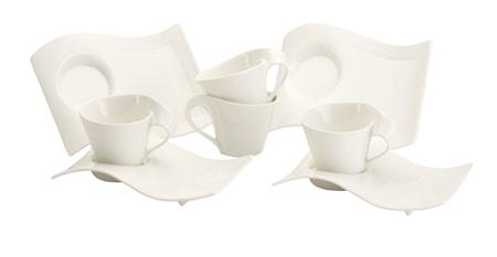 NewWave Caffe Cappuccino-Set 8 delar