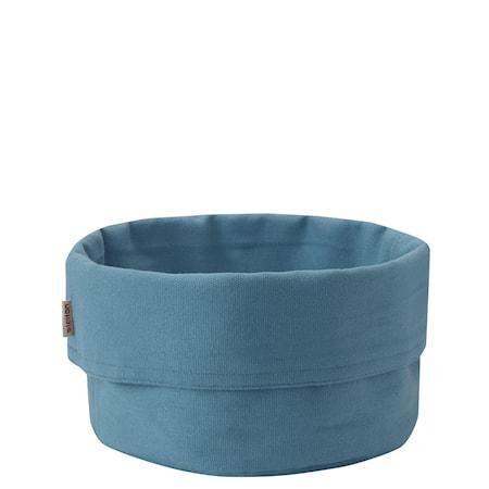 Brödpåse, stor - dusty blue