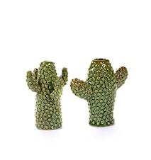 Kaktus Keramik Grön Mini