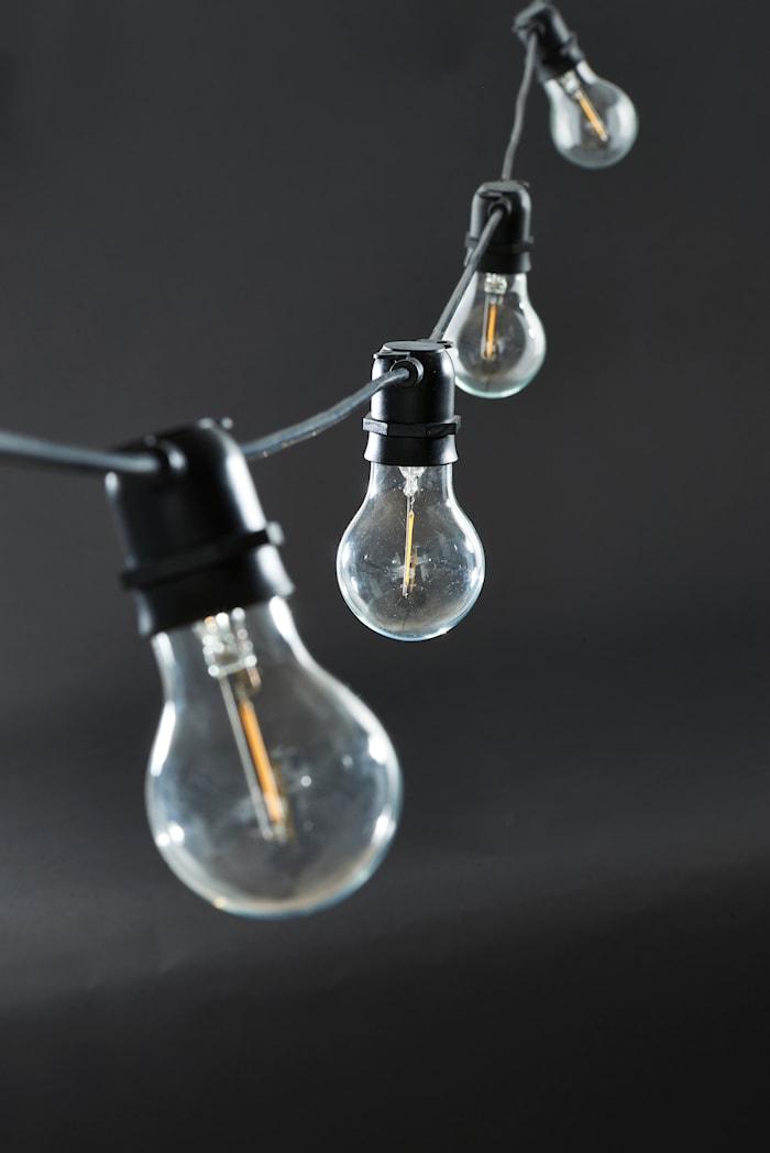Function Valonauha Musta 10 LED