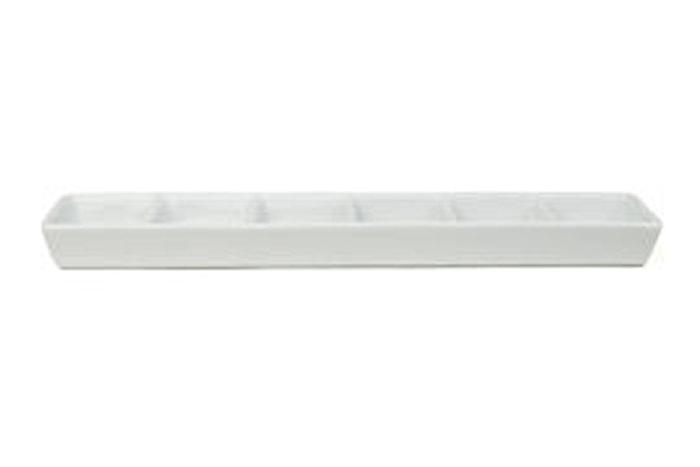 Fat Rektangulært 30x7 cm Seksdelt