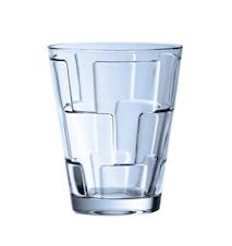 Dressed Up Vandglas sæt 4stk blå