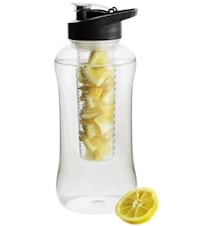 Fresh bottle large with fruit piston black