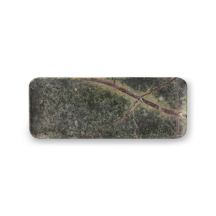 Bricka Grön Marmor