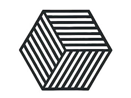 Hexagon Grytunderlägg Svart