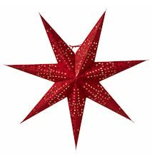 Ludwig Julstjärna Röd 60 cm