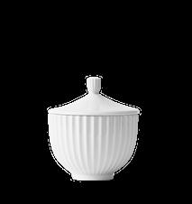 Bonbonniere Porcelæn Hvid Ø10 cm
