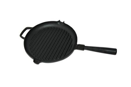 Le Gourmet Grillpanna med Stålhandtag Ø 28 cm