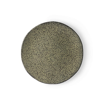Gradient Ceramics Assiett Green 2 st