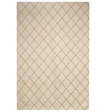 Diamond Dhurry Matta Ull Brun/ Off White 230x336 cm