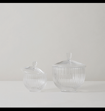 Bonbonkrukke Pustet Glas Klart Ø10 cm