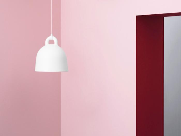 Bell Lampe Hvit XS