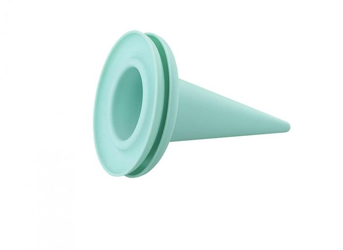 Glasstrutsskydd Cillicone Aqua 2-pack