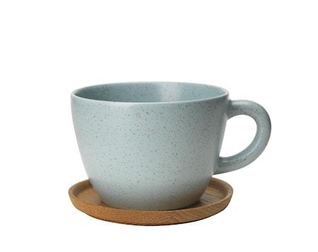 Höganäs Keramik Teemuki 50 cl puualustalla kuura matta