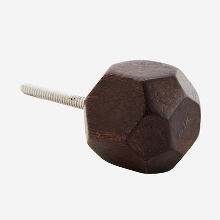 Knopp Ø 3,5 cm - Natur/tre