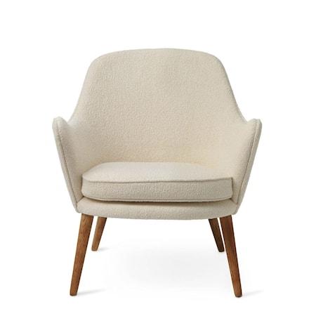 Dwell Lounge Chair Cream