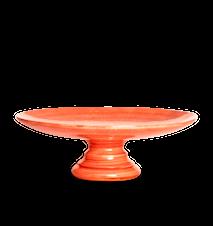 Basic Tårtfat Orange 33 cm
