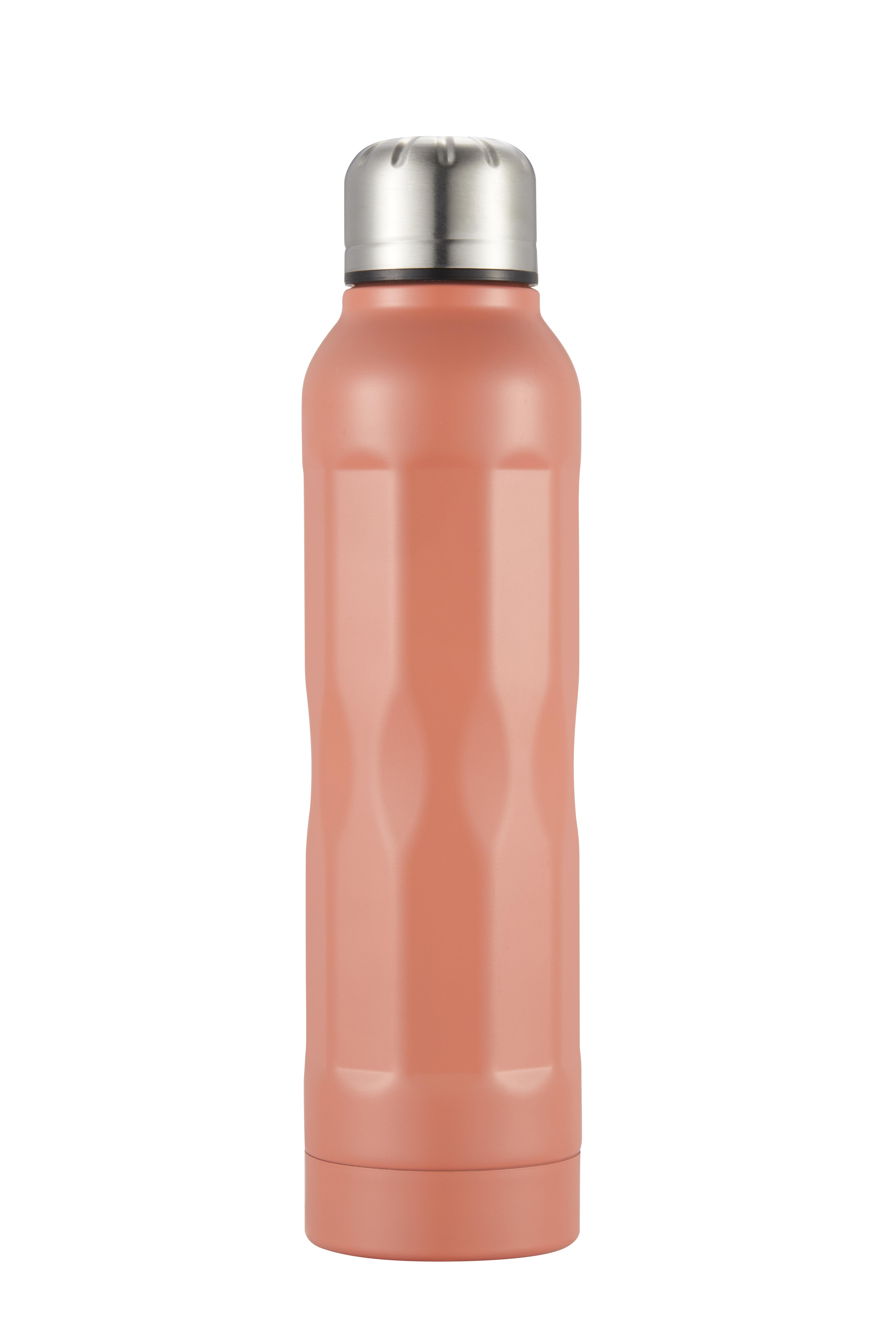 Tia Vakuumflaska rosa rostfritt stål 35 dl