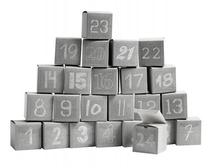 Kalenderset Box 24 st