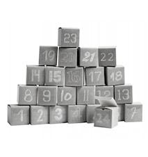 Kalenterisetti Box 24 kpl