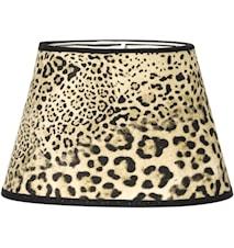 Lampskärm Oval Leopard