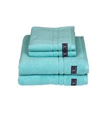 Premium Håndklæde Grøn 50x70 cm